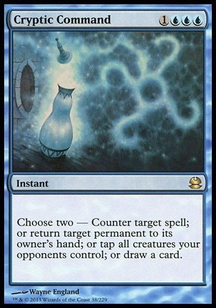 DICTADO CRIPTICO / CRYPTIC COMMAND (MODERN MASTERS)