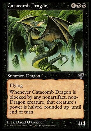DRAGON DE LAS CATACUMBAS / CATACOMB DRAGON (ESPEJISMO)