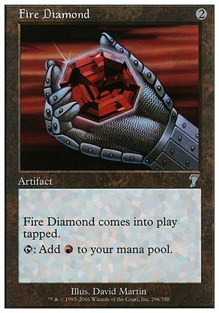 DIAMANTE FLAMIGERO / FIRE DIAMOND (SEPTIMA)