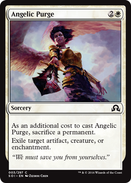 PURGA ANGELICAL / ANGELIC PURGE (SOMBRAS SOBRE INNISTRAD)