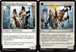 MISIONEROS AVACYNOS, INQUISIDORES LUNARCAS / AVACYNIAN MISSIONARIES, LUNARCH INQ (SOMBRAS INNISTRAD)