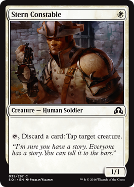 GENDARME INFLEXIBLE / STERN CONSTABLE (SOMBRAS SOBRE INNISTRAD)