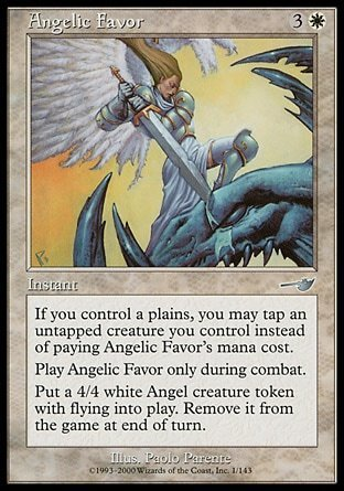 SERVICIO ANGELICAL / ANGELIC FAVOR (NEMESIS)