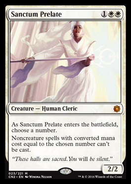SANCTUM PRELATE (CONSPIRACY: TAKE THE CROWN)