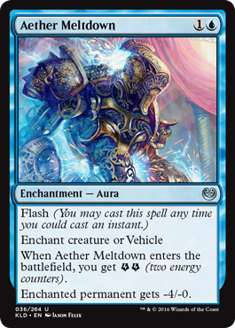 COLAPSO DEL ETER / AETHER MELTDOWN (KALADESH)