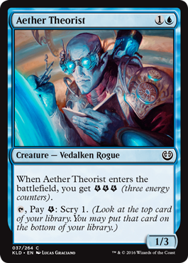 TEORICO DEL ETER / AETHER THEORIST (KALADESH)