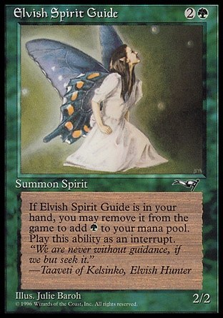 ESPIRITU GUARDIAN ELFICO / ELVISH SPIRIT GUIDE (ALIANZAS)