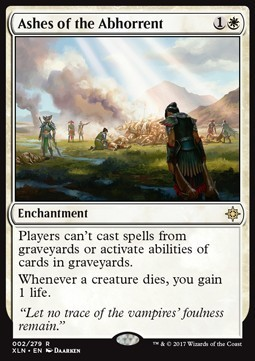 CENIZAS DE LOS ABORRECIDOS / ASHES OF THE ABHORRENT (IXALAN)