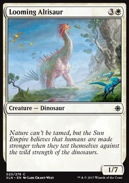 ALTISAURIO AMENAZANTE / LOOMING ALTISAUR (IXALAN)