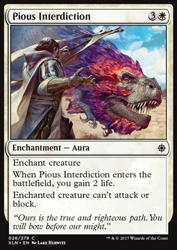 INTERDICCION DEVOTA / PIOUS INTERDICTION (IXALAN)