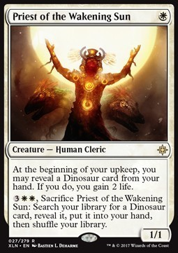 SACERDOTE DEL SOL ALBO / PRIEST OF THE WAKENING SUN (IXALAN)