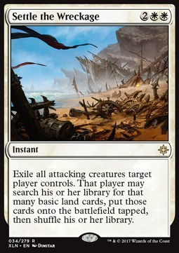NAUFRAGIO CONSUMADO / SETTLE THE WRECKAGE (IXALAN)