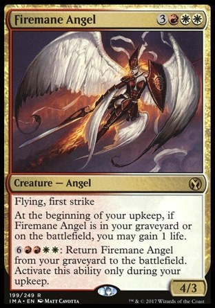 ANGEL MELENAFUEGO / FIREMANE ANGEL (ICONIC MASTERS)