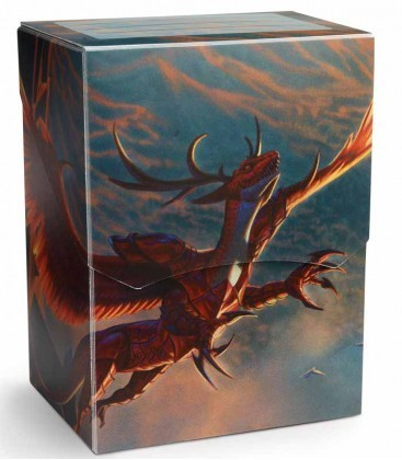 CAJA MAZO DRAGON SHIELD DECK SHELL - COLOR CARMESI (EDICION LIMITADA)