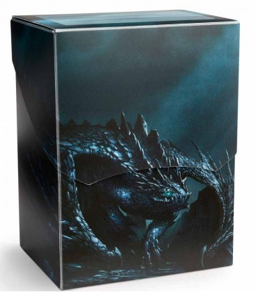 CAJA MAZO DRAGON SHIELD DECK SHELL - COLOR PIZARRA (EDICION LIMITADA)