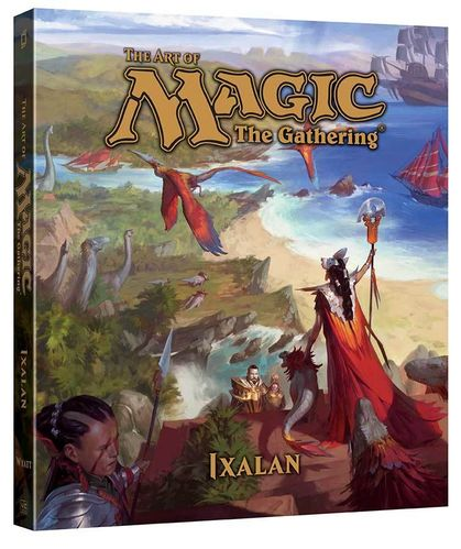 LIBRO THE ART OF MAGIC: IXALAN