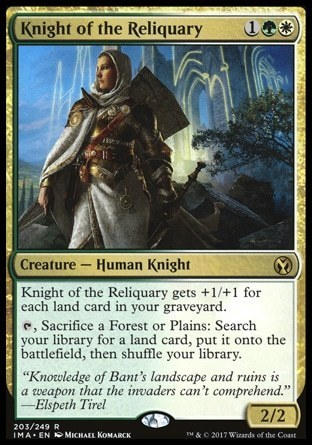 CABALLERO DEL RELICARIO / KNIGHT OF THE RELIQUARY (ICONIC MASTERS)