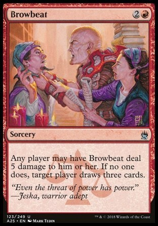 AMEDRENTAR / BROWBEAT (MASTERS 25)