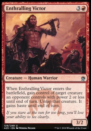 VENCEDOR SEDUCTOR / ENTHRALLING VICTOR (MASTERS 25)