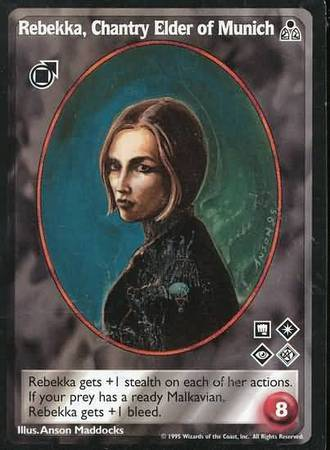 REBEKKA CHANTRY ELDER OF MUNICH (DARK SOVEREIGNS)