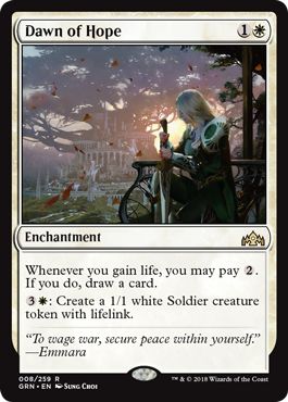 ALBA DE ESPERANZA / DAWN OF HOPE (GREMIOS DE RAVNICA)