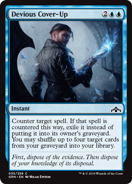 ENCUBRIMIENTO LADINO / DEVIOUS COVER-UP (GREMIOS DE RAVNICA)