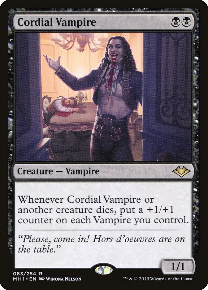 Vampiro Cordial Cordial Vampire Horizontes De Modern El Rincón De Magic