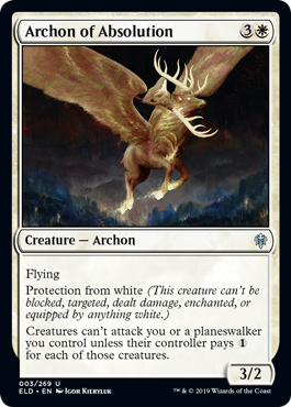 ARCONTE DE LA ABSOLUCION / ARCHON OF ABSOLUTION (EL TRONO DE ELDRAINE)