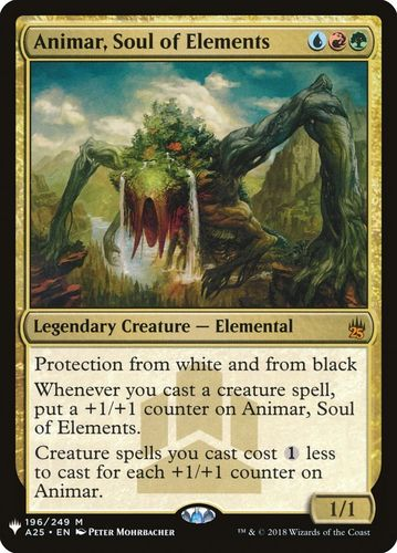 ANIMAR ALMA DE LOS ELEMENTOS / ANIMAR SOUL OF ELEMENTS (MYSTERY BOOSTER)