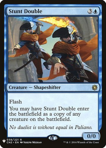 STUNT DOUBLE (MYSTERY BOOSTER)
