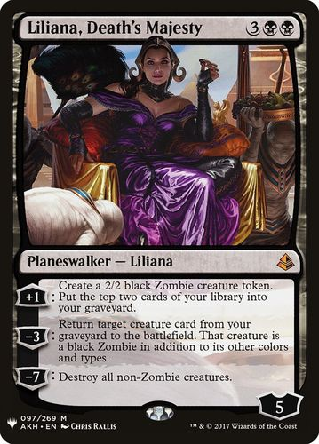 LILIANA MAJESTAD DE LA MUERTE / LILIANA DEATH'S MAJESTY (MYSTERY BOOSTER)