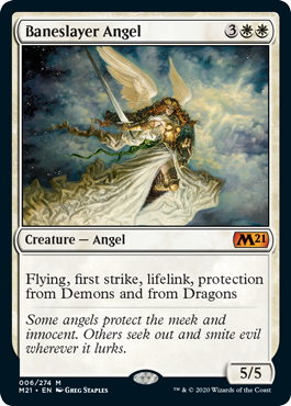 ANGEL MATADEMONIOS / BANESLAYER ANGEL (M21)
