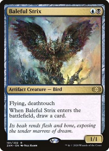 STRIX MALEFICO / BALEFUL STRIX (DOUBLE MASTERS)