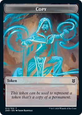 TOKEN COPIA / COPY TOKEN (EL RESURGIR DE ZENDIKAR)
