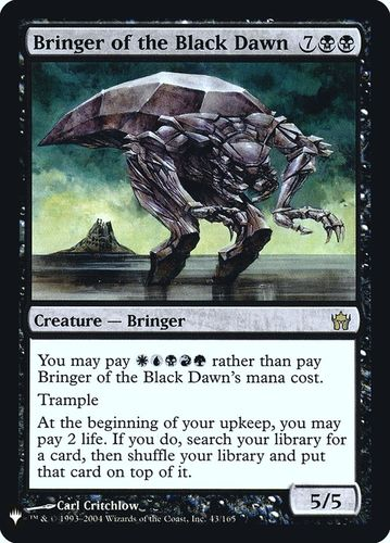 ADALID DEL AMANECER NEGRO / BRINGER OF THE BLACK DAWN (MYSTERY BOOSTER)