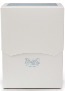 CAJA MAZO DRAGON SHIELD DECK SHELL COLOR BLANCO (PLASTICO)
