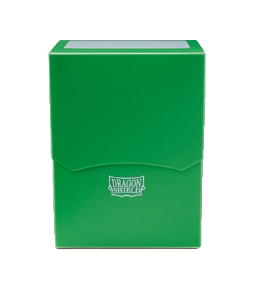 CAJA MAZO DRAGON SHIELD DECK SHELL COLOR VERDE (PLASTICO)